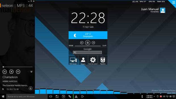 Windows 10 TP build 10056