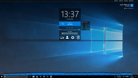 Windows 10 Anniversary Update 1607 by JUANMAS7ER