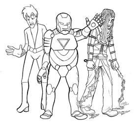 I am Iron Milton by DarthTeken