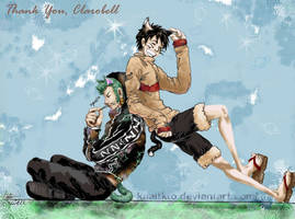 Zoro and Luffy neko by kaaitkto
