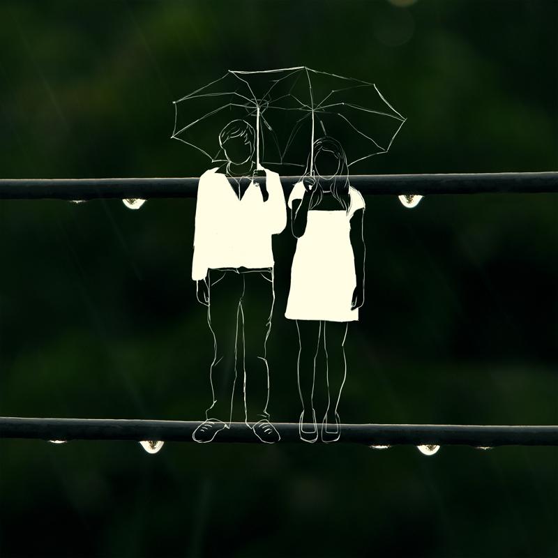 Love in the rain by sakiryildirim