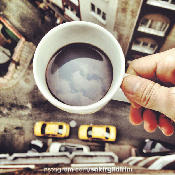 Cloud Coffee by sakiryildirim