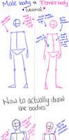 Male and Female body tutorial by MyBananaMusic
