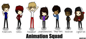 Fanart For the Animation Squad!