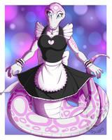 Maid Snek by Blitzy-Arts