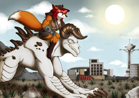 Commission: New Vegas by Blitzy-Arts