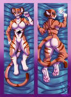Commission: Tigercougar by Blitzy-Arts