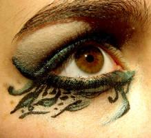 Makeup leaf design by 7-Sophie-2