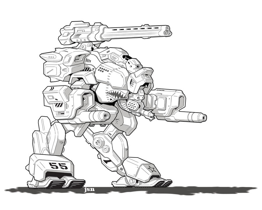 Polaris Mech by LKY13