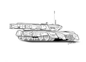 Challenger Tank by LKY13