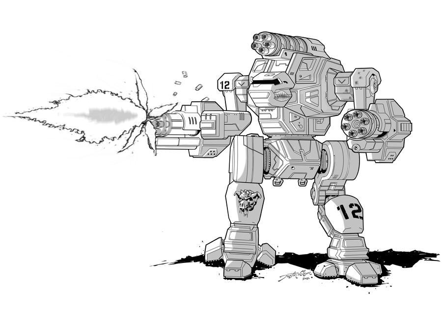Warthog Battlemech by LKY13