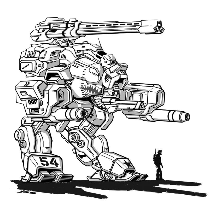 Marauder MK III by LKY13
