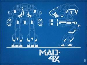 Marauder 4X Blue Print