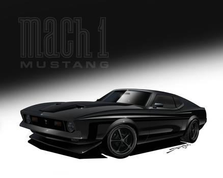 1971 Mach1 Mustang