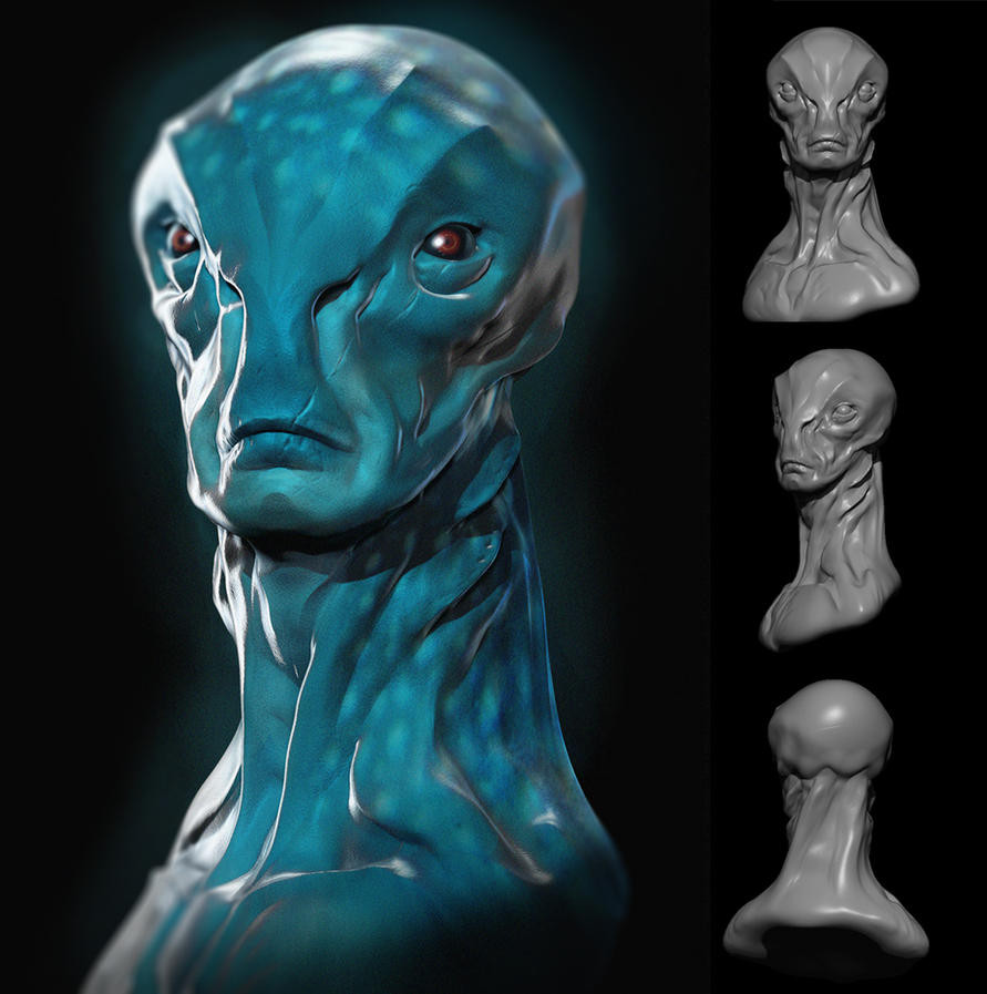 Alien Commander revisited by Jouniac