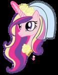 Princess Cadence Head