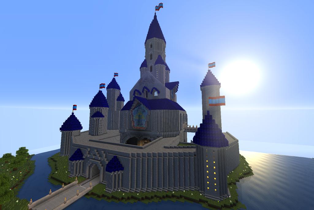 Hyrule Castle MINECRAFT By Boswayd On DeviantArt