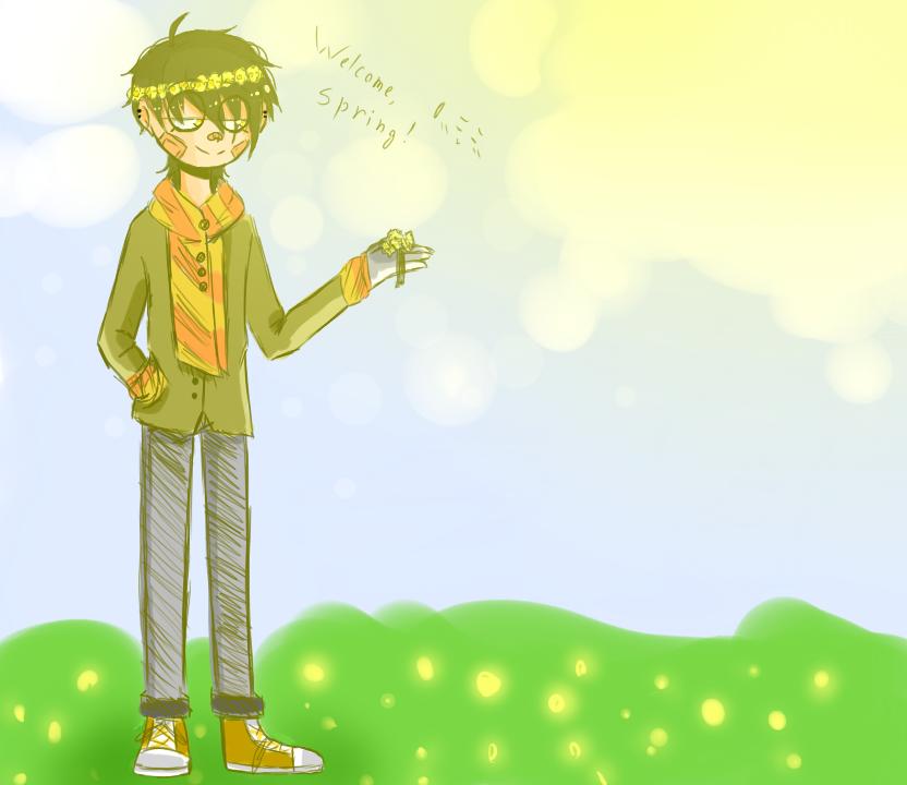 Spring welcomes spring by Mizuki444