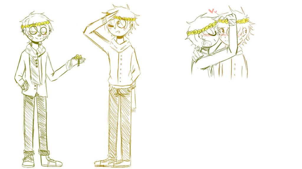 Welcome spring - sketch - by Mizuki444
