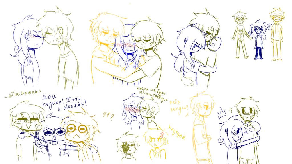 Sketch - consolation - by Mizuki444