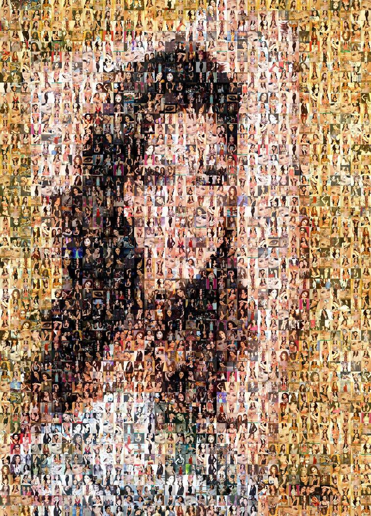 Elissa - Mousaic Wallpaper by I-SUNA-I on DeviantArt