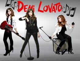 Demi Lovato BG by TheUh-OhOreo