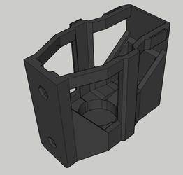 (free download) Holster for Nerf Rival Helios by Cyborg-Samurai