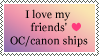 [stamp] friends' ship support by AsakuraMei