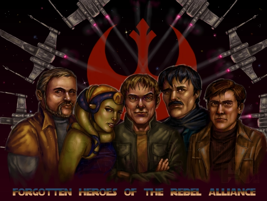 Forgotten Heroes of the RA by DarthFar