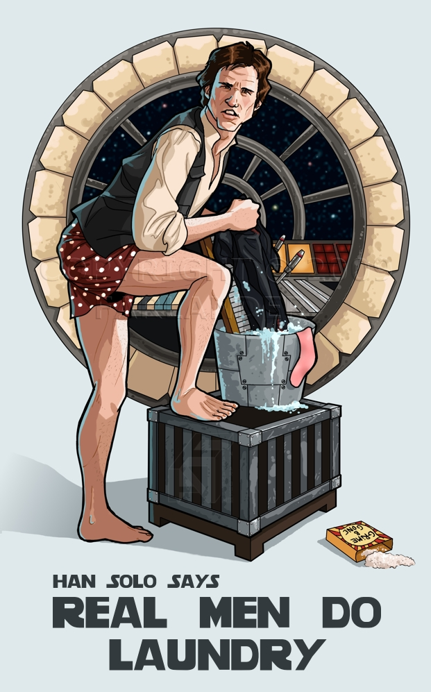Laundry Day Campaign by DarthFar