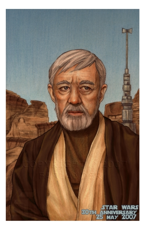 Kenobi: SW 30th Anniversary by DarthFar