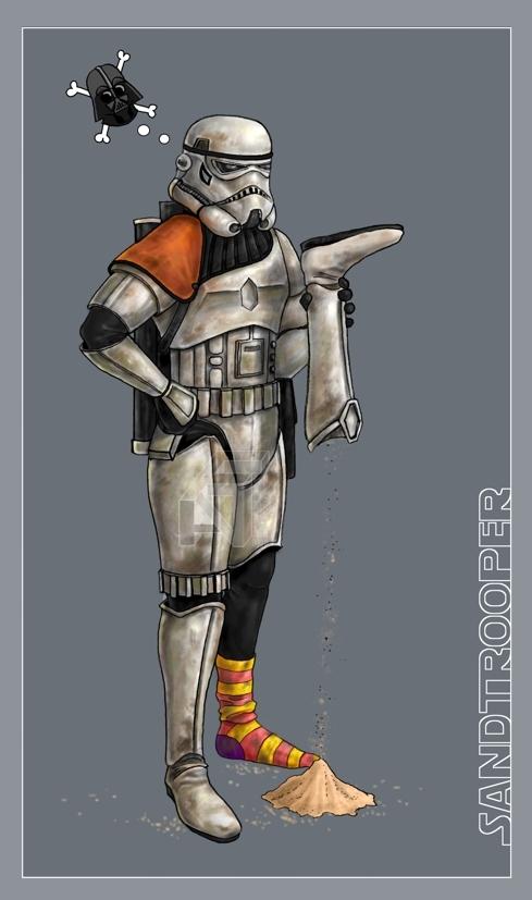 Sandtrooper: JCF Collage by DarthFar