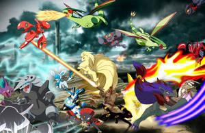 Pokemon War by Kiaserliche