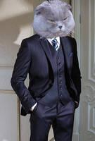 Corporate Fat Cat by Kiaserliche