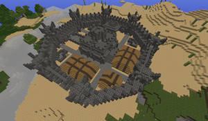 Minecraft Stone Fortress by Kiaserliche