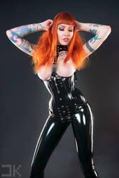 Psylocke - BlackLatex 02 by Kopp-Photography