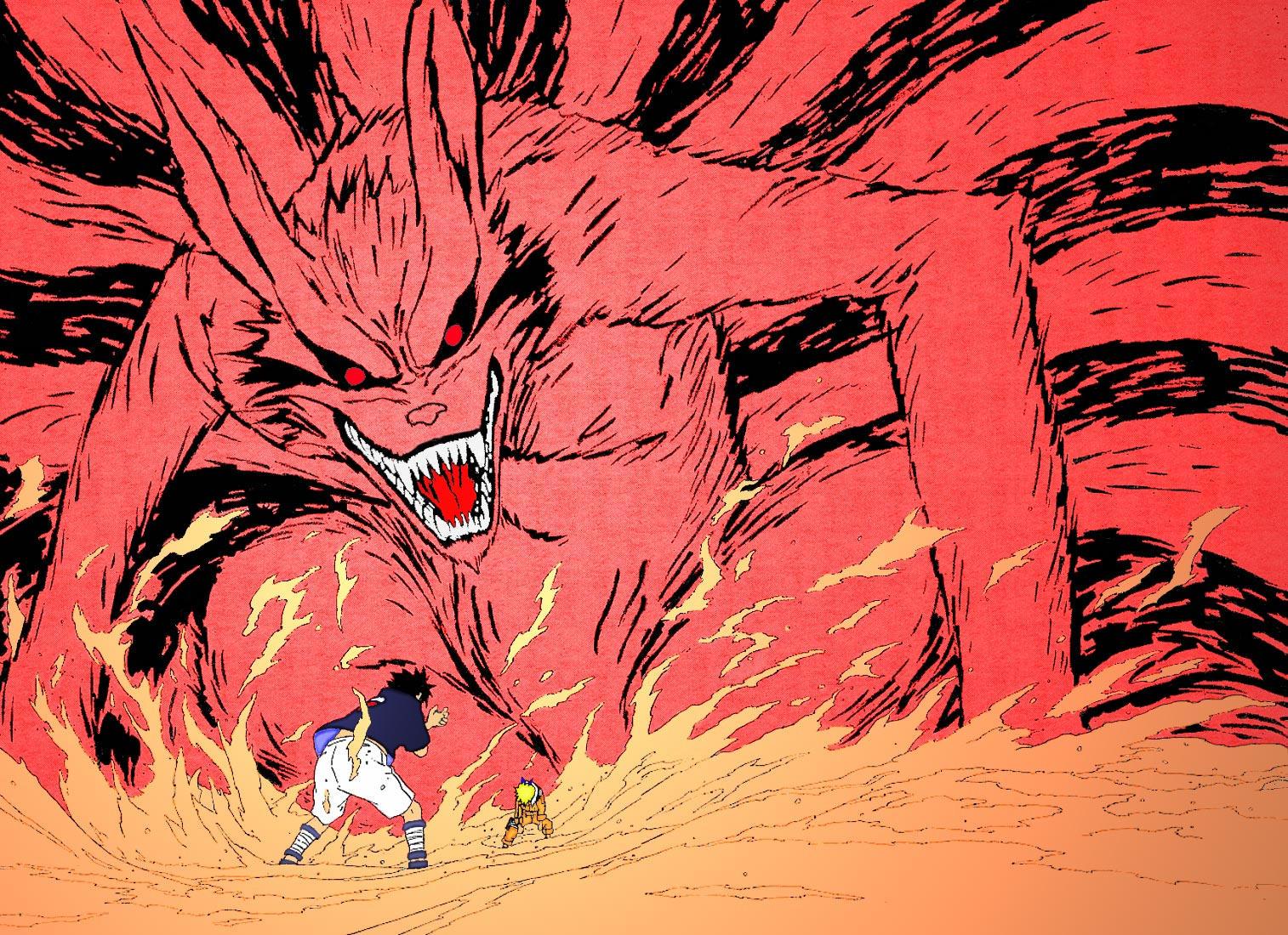 naruto kyuubi vs sasuke -#main