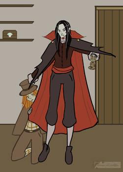 Dracula and Edgard by Emma-O-Lantern