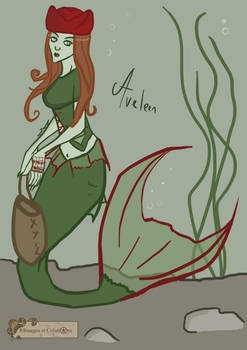 Aveleen the merrow by Emma-O-Lantern