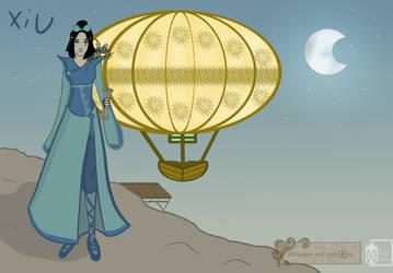 Xiu and La Lanterne Volante by Emma-O-Lantern