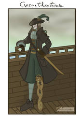 Capitaine Thomas Tentacle (steampunk) by Emma-O-Lantern