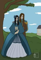 Ana-Maria et Galabrian by Emma-O-Lantern