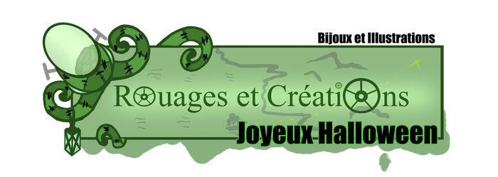 Rouages et Creations Halloween Banner for my shop by Emma-O-Lantern