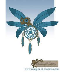 Dragon fee a plumes steampunk by Emma-O-Lantern