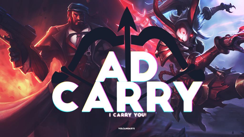 ADCarry - League of Legends by vulcanoarts on DeviantArt