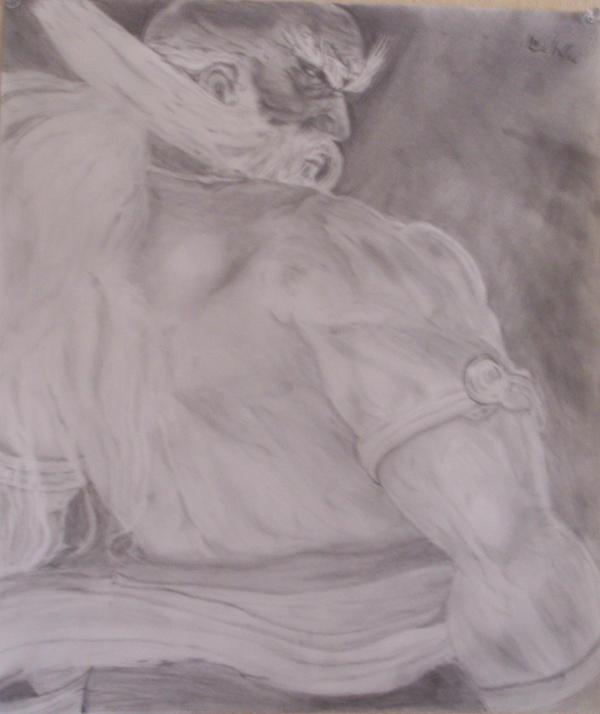 Jinpachi final sketch by shin03