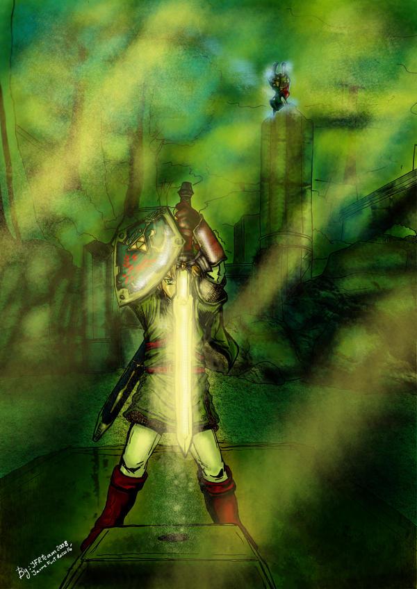 Twilight Princess Master Sword by JFRteam