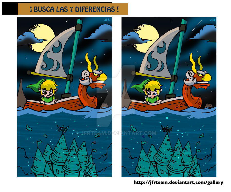Wind Waker Diferences by JFRteam