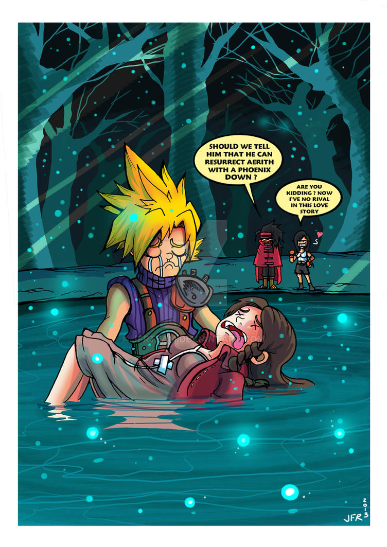 Final fantasy vii cartoon