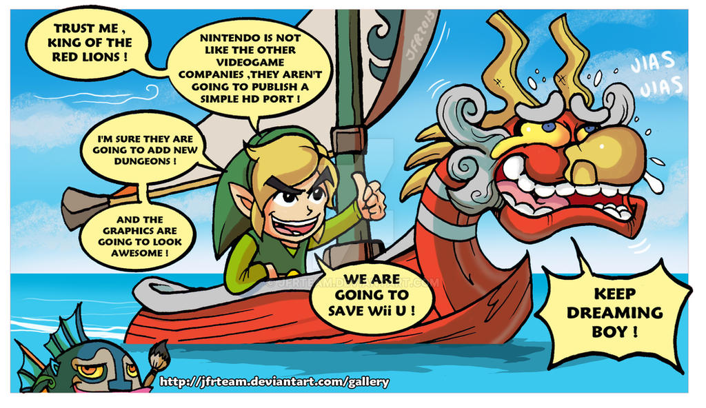 The Legend Of Zelda  The Wind Waker Hd By Jfrteam On -4200